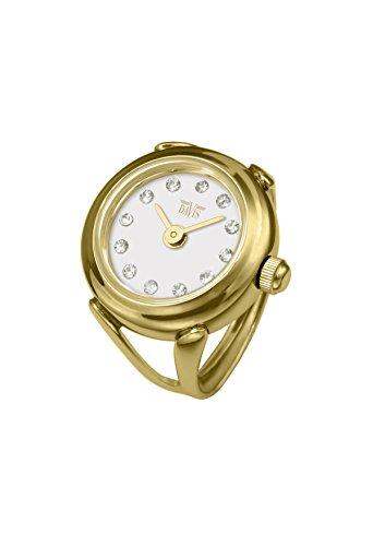 Davis - Ring Watch 4174 - Anello Orologio Donna Strass Cristallo Swarovski...