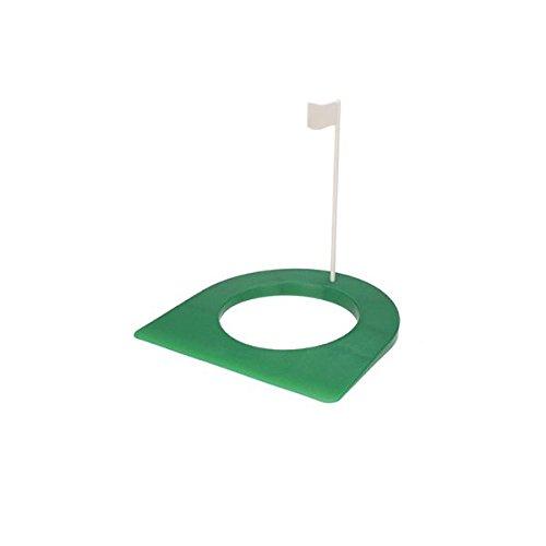 PIXNOR Gomma di Golf Mettendo Tazza Con Foro e Bandiera