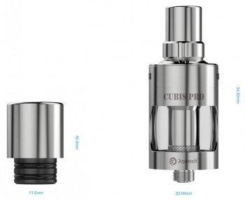 Joyetech Cubis Pro Verdampfer 4ml Hybrid Farbe Schwarz