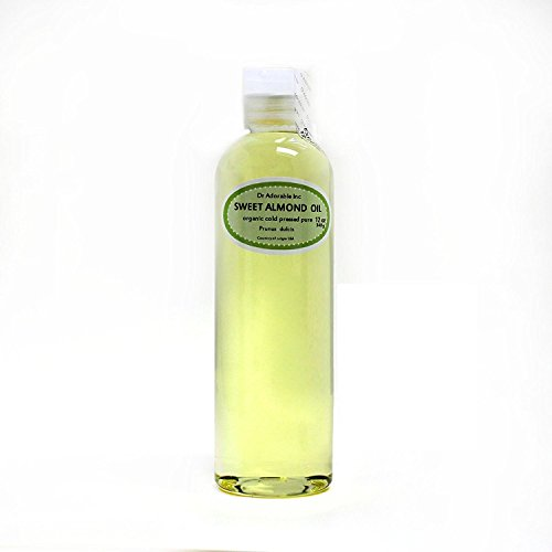 Sweet Almond Oil 100% Organic Skin Care 12 Oz