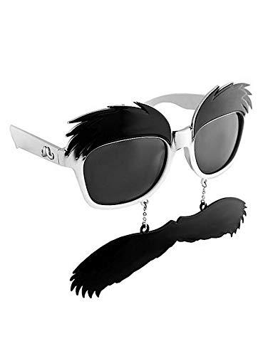 Sun Staches - Groucho Partybrille Brille mit Bart