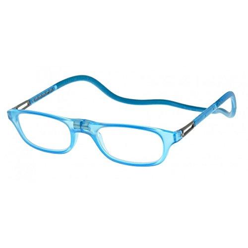 Preisvergleich Produktbild Lesebrille Slastik Leia Fit 003 Klappbare presbyopische Brille - Brillenwerte: +3.0 - Farbe: Hellblau