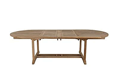Beaufort 180-270cm Luxury Grade A Extension teak dining table from Walkham - cheap UK light shop.