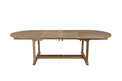 Beaufort 180-270cm Luxury Grade A Extension teak dining table from Walkham - cheap UK light store.