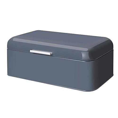 GA Homefavor Metall Brotbox Brot pulverbeschichtete Metall Aufbewahrungsbox, 44 * 26 * 20 cm