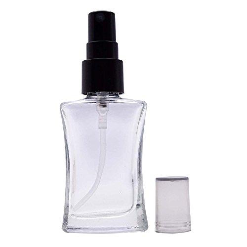 Lot de 100 vides de verre clair Flacons Aromathérapie rechargeable Spray Huile Essentielle bouteille atomiseur pulvérisation gros Bouteilles de sérum de 10 ml
