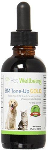 BM Tone-Up Gold - Pflanzliches Ergänzungsmittel gegen Durchfall - Für Katzen & Hunde - Flasche mit 59 ml