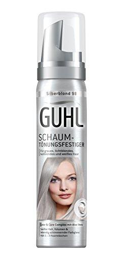 Guhl Schaum-Tönungsfestiger 98 Silberblond, 3er Pack (3 x 75 ml)