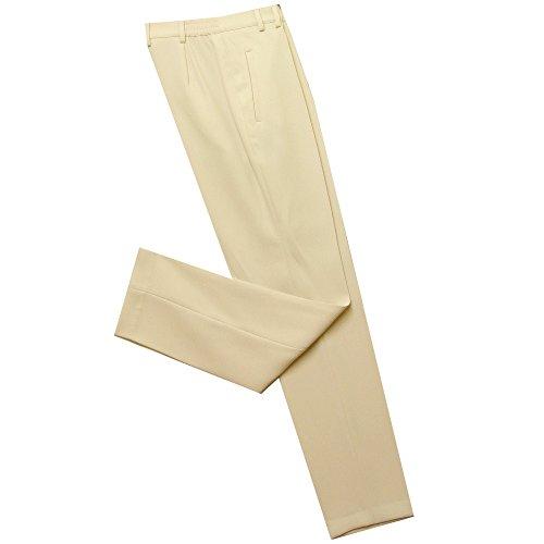Eugen Klein Straight Leg Trouser 5815 81454 in Cream Polyester