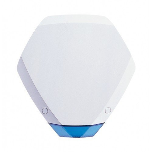 Texecom Premier Elite Odyssey 3, Grade 3, External Hexagonal Alarm Bell Box Sounder Strobe, Twin LED Strobe, FCC-1121 by Texecom Sounder-box