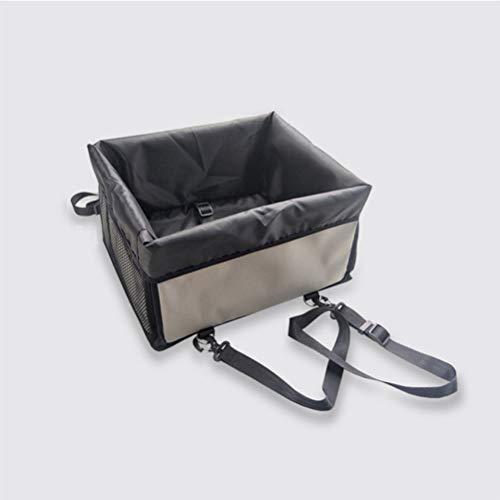 ung für Autos, tragbare Hundesitz-Reisetasche mit Sicherheitsgurt für Haustiere (10 kg) Faltbarer Hundesitz ()