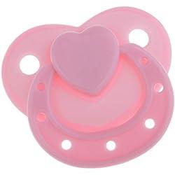 Sharplace Modelo de Chupete Accesorios para Realista Muñeca Recién Nacido - Rosado