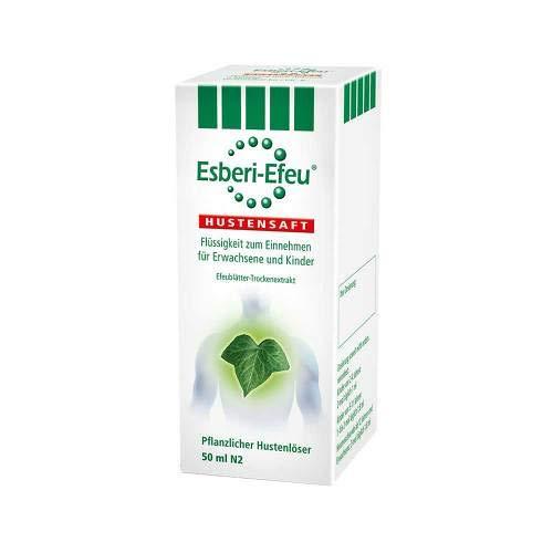 Esberi-Efeu Hustensaft 50 ml