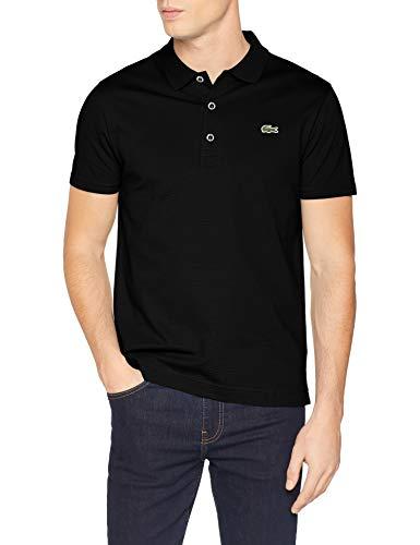 Lacoste Herren Yh4801 Poloshirt, Schwarz (Noir 031), Medium (Herstellergröße: 4)