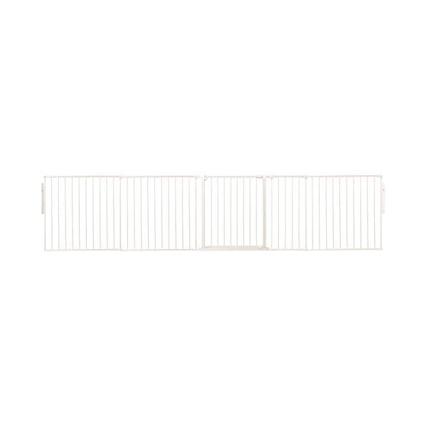 Safetots Room Divider White Up to 321cm Safetots Screw fitted room divider Can also be configured into a playpen or hearth gate Additional Gate Opening Panels available 1