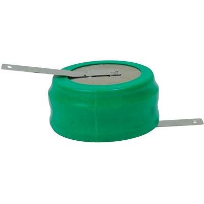 Pile-bouton rechargeable NiMH 2.4 V Emmerich 170 H, patte à souder 230 mAh 1 pc(s)