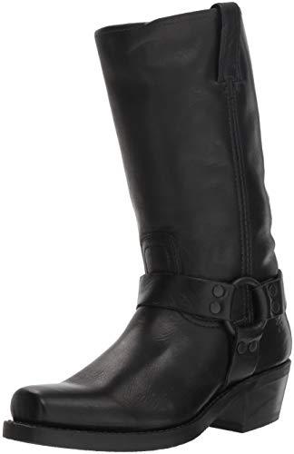 Damen-harness Boot (FRYE Damen Harness 12R, schwarz, 39.5 EU)