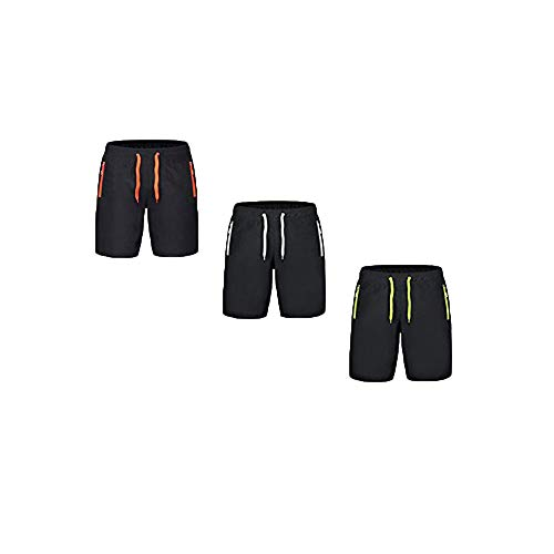 Youthny Short Homme Sport Grande Taille Respirant Séchage Rapide Transpirant Large(S-9XL) (XL, Multicolore)