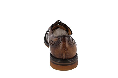 A2884 Lottuse KANGOUROU SHOE DC BROWN Marron