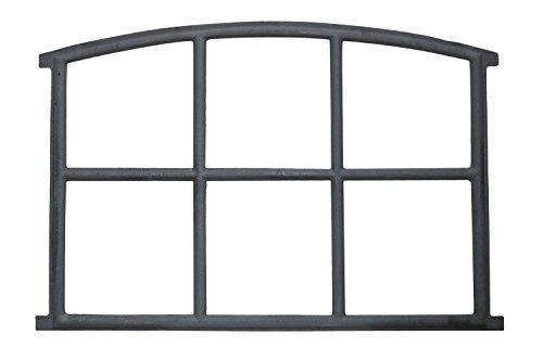 Stallfenster Fenster Scheunenfenster Eisen grau 84 x 60cm Antik-Stil