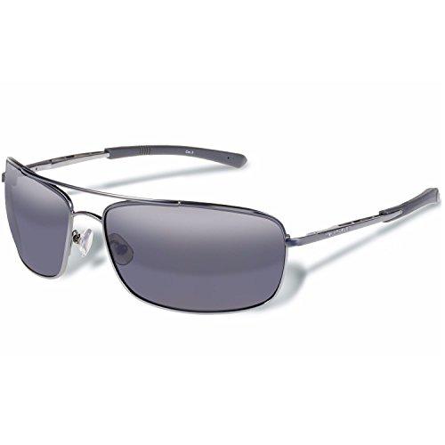 Gargoyles Barricade Performance Sonnenbrille, matt gun Frame/Smoke Lens