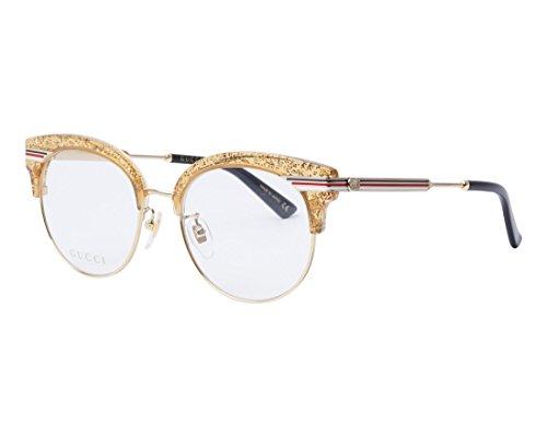 Brillen Gucci GG0285OA GOLD Damenbrillen