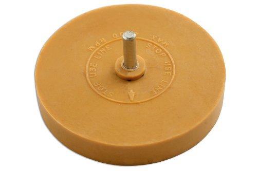 Preisvergleich Produktbild Power-Tec 91488 Folienradierer, scheibenförmig, mit Schaft