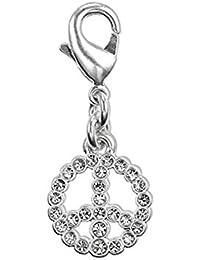 Pilgrim, charm colgante simbolo paz plata pilgrim ref 401226001