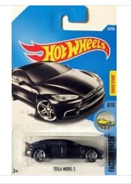 Preisvergleich Produktbild Hot Wheels 2017 - Tesla Model S (Schwarz) #43
