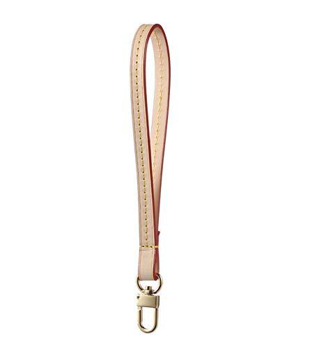Echtes Leder Griff für Taschen Gold und Silber Schnalle Frauen Geldbörse Griff Handschlaufe Zubehör Handgelenk Gürtel -