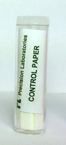 eisco Labs Control (no pruebas de química) tiras de papel–sabor genética (Vial De 100)