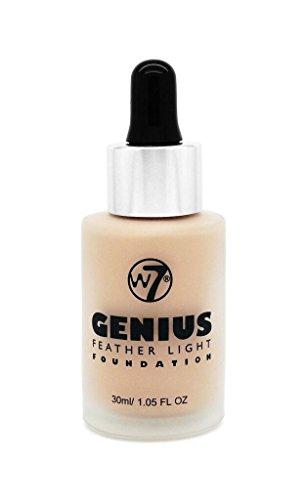 W7 Genius Feather Light Make Up Foundation, 30 ml