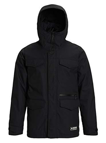 Burton Herren Covert Snowboard Jacke, True Black, XXL Burton Full Zip Pant