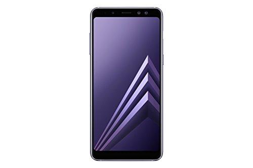 Samsung Galaxy A8 (2018) Smartphone, Orchid Gray, 32GB espandibili, Dual sim [Versione Italiana]