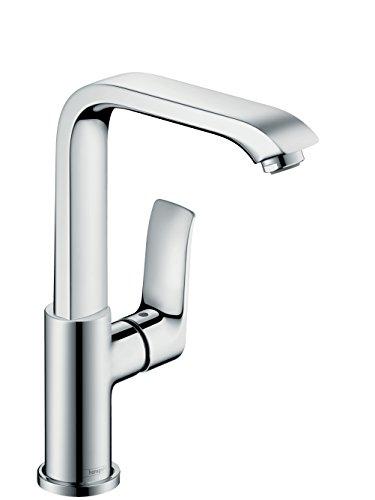 Preisvergleich Produktbild Metris Einhebel-Waschtischmischer 230 mit Push-Open Ablaufgarnitur chrom, 31187000