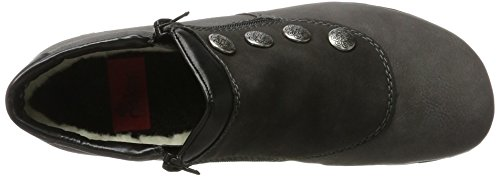 Rieker Ladies L4649 Boots Grey (fumo / Antracite / Nero)