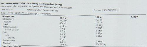 Optimum Nutrition 100% Whey Gold Standard Protein Vanilla