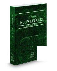 Iowa Rules of Court - Federal 2016 PDF Books