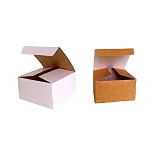 Pack of 10 x Self Assembly Gift Box (Code#B) Cardboard Flat Pack Self Assembly Gift Box suitable for Chocolates, Jewellery, Small Gifts.