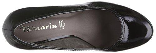Tamaris - 22409, Scarpe col tacco Donna Nero (Nero (Black Patent 018))