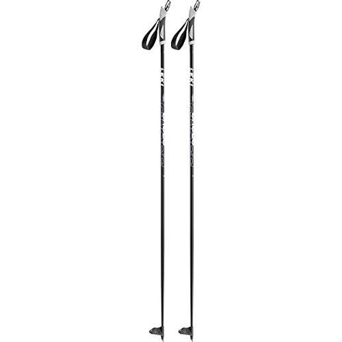 LEKI Cross Soft Langlaufstöcke, Schwarz, 145 cm