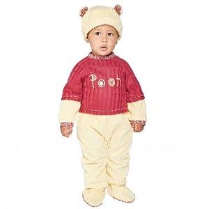 Amscan Dress Up DCWINVRP06 - Disfraz de Winnie The Pooh de Disney, Color no Liso, 6-12 Meses