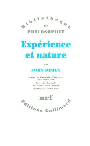 Expérience et nature PDF Books