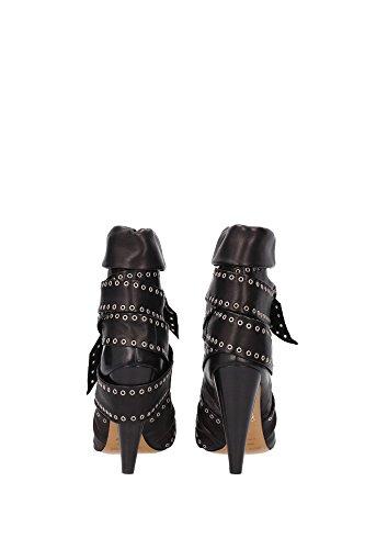 BO004814H003SANTHRACITE Isabel Marant Chaussure mi montantes Femme Cuir Gris Gris