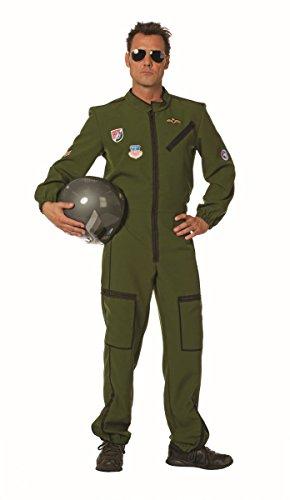 Herren Kostüm Army Jetpilot Pilot Karneval Fasching - Army Kostüm Für Herren