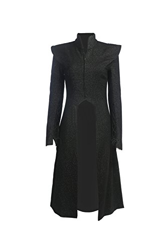 Targaryen Dragon Kostüm Daenerys - GOT Daenerys Targaryen Kostüm Season 7 Mother of Dragons Cosplay Damen Kleid Halloween Fancy Dress Outfit Kleidung
