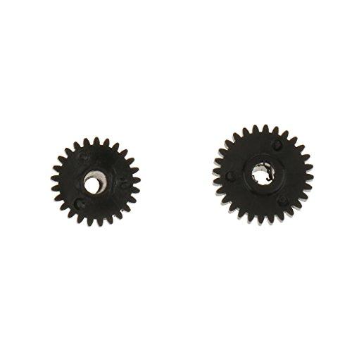 Sharplace 2 stk. Motor Folgefokus Zanrrad Gear Zubehör für Canon Kamera