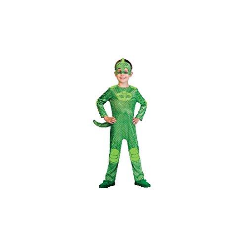 Costume Gekko per maschere PJ di taglia per bambini Toddler (2-3 years)