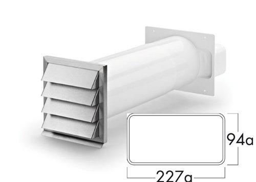 Compair 402.2.040 Klima-E flow 150 Mauerkasten