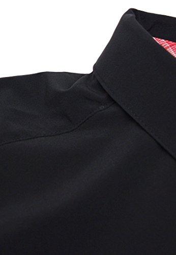 Salomon Damen 's Mount Short Sleeve Shirt schwarz
